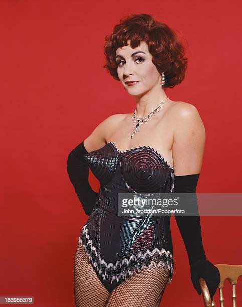 English opera singer Lesley Garrett wearing a bustiere 1992