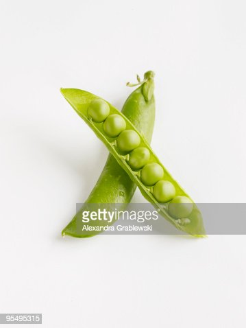 English Peas : Stock Photo