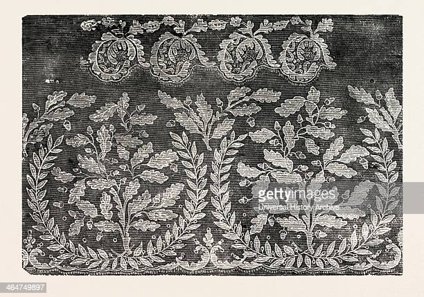 English Pillow Lace By B Hill Olney Bucks