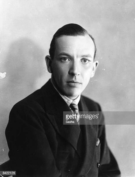 English playwright actor and composer Noel Coward