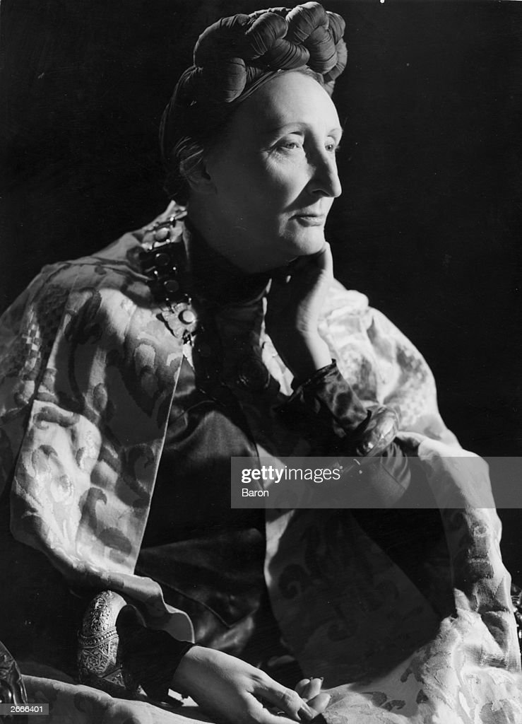 130 Years Since The Birth Of Dame Edith Sitwell, British poet