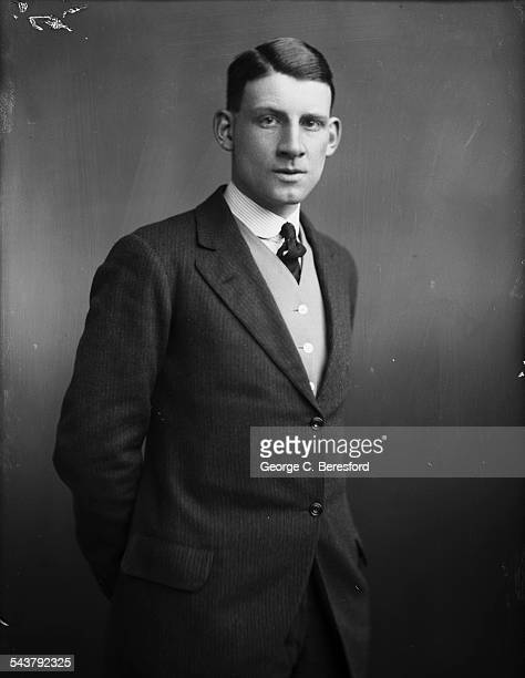 English poet novelist and soldier Siegfried Sassoon London 4th March 1916