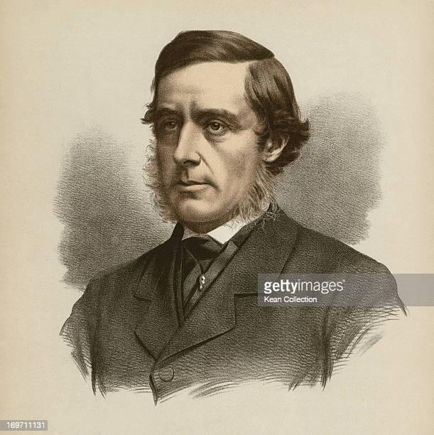 English politician and landowner Hugh Lupus Grosvenor 1st Duke of Westminster circa 1865