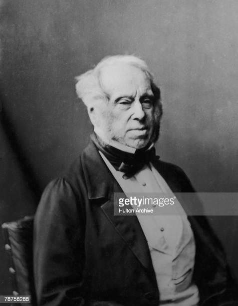English politician Henry John Temple 3rd Viscount Palmerston circa 1850