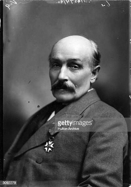 English politician pacifist and trade unionist Sir William Randal Cremer winner of the Nobel peace prize in 1903