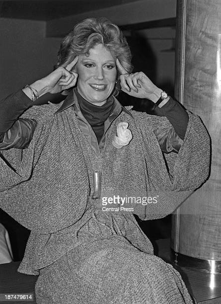 English pop singer Dusty Springfield at the Savoy Hotel London where she is promoting her tenth album 'It Begins Again' 2nd February 1978
