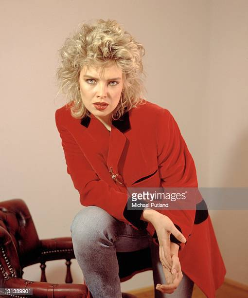 English pop singer Kim Wilde London May 1985