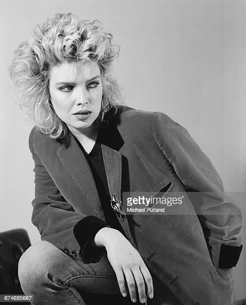 English pop singer Kim Wilde May 1985