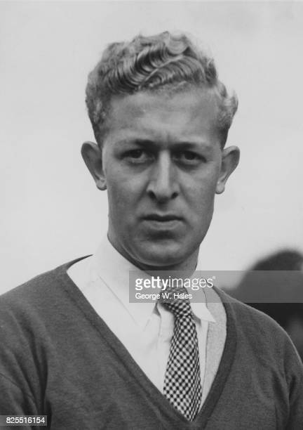 English professional golfer Bernard Hunt of the Hartsbourne Club after being selected for the British Ryder Cup team 1st October 1953