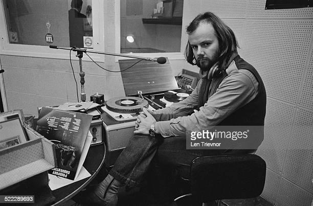 English Radio 1 disc jockey and radio presenter John Peel 8th February 1972