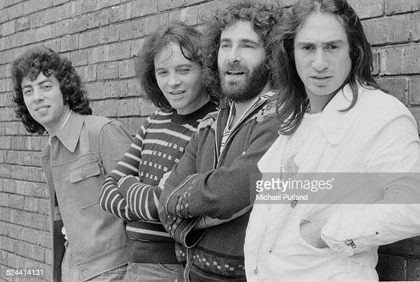 English rock band 10cc 17th September 1974 Left to right Graham Gouldman Eric Stewart Kevin Godley and Lol Creme