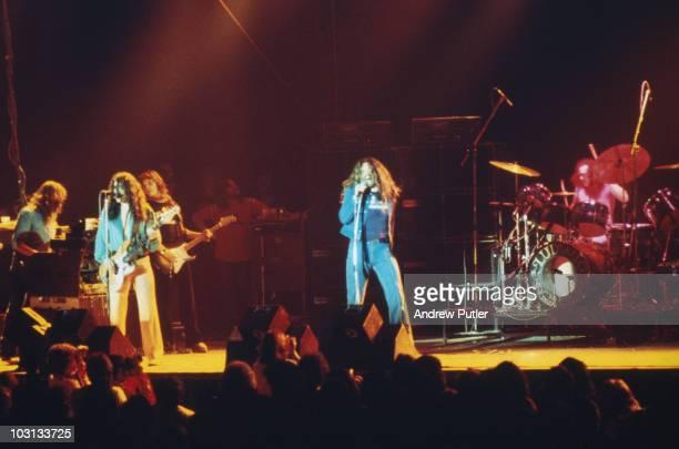 English rock band Deep Purple in concert 1974