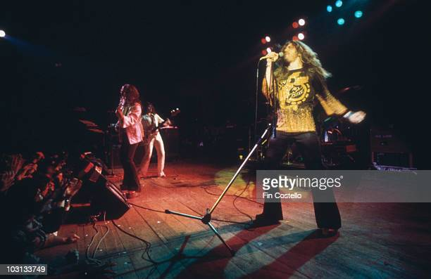 English rock band Deep Purple in concert 1976