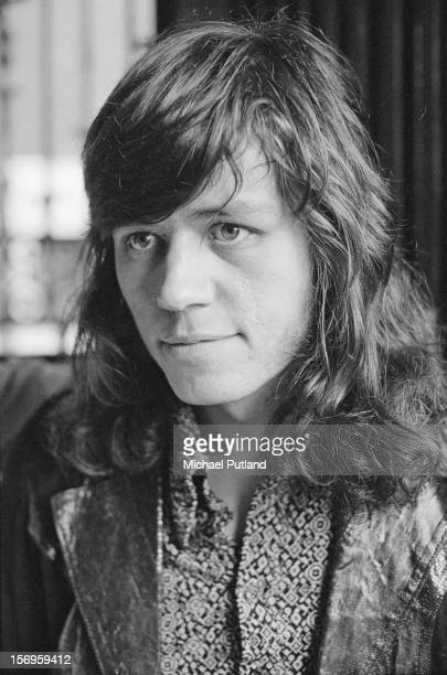 English rock drummer Bev Bevan a founder member of Electric Light Orchestra 25th April 1972