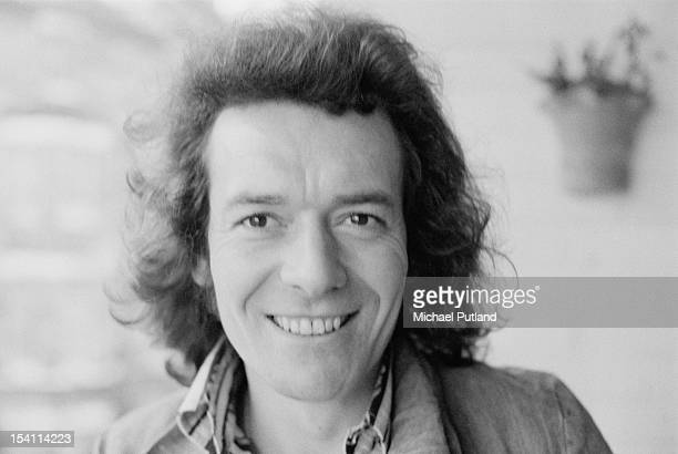 English singer Allan Clarke of the Hollies 10th March 1972