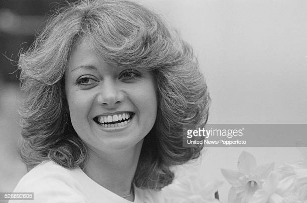 English singer and actress Elaine Paige who plays the role of Eva Peron in the musical Evita pictured in London on 27th April 1978