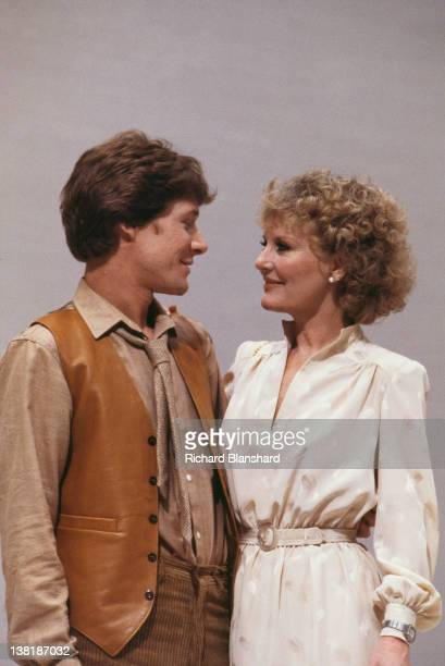 English singer and actress Petula Clark stars with singer Paul Jones in the television play 'Traces of Love' broadcast in 1979