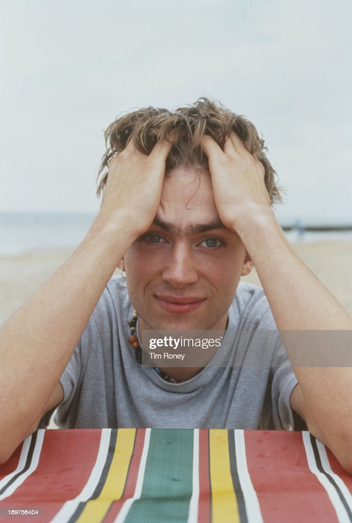 English singer and Blur frontman Damon Albarn, circa 1996.