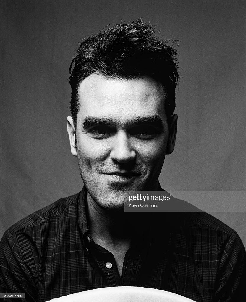 English singer and lyricist Morrissey, circa 1990.