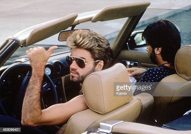 English singer and musician George Michael circa 1988