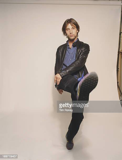 English singer and musician Jay Kay of Jamiroquai 2001
