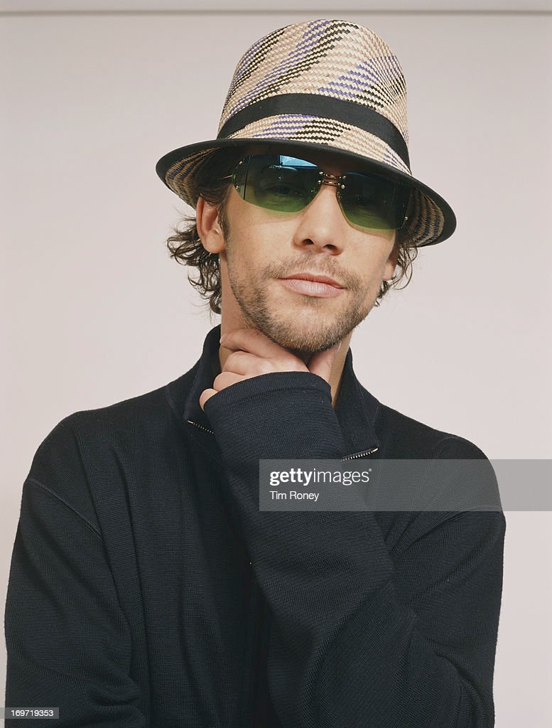 English singer and musician Jay Kay of Jamiroquai, circa 2000.
