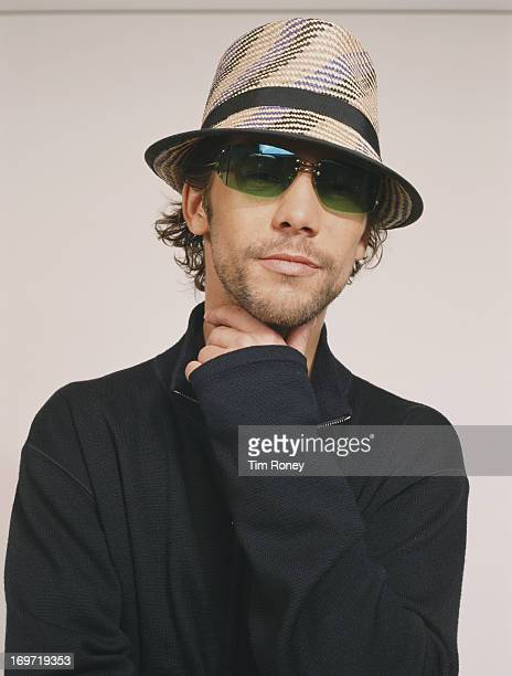 English singer and musician Jay Kay of Jamiroquai circa 2000