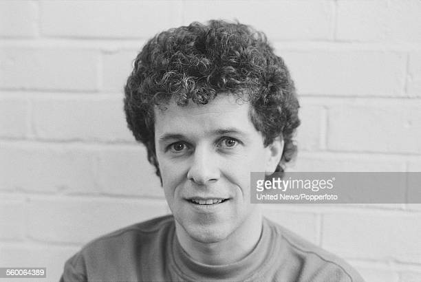 English singer and musician Leo Sayer posed in London on 16th January 1984
