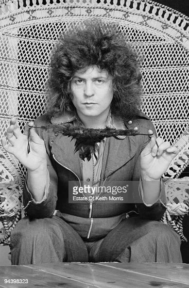 English singer and musician Marc Bolan circa 1977
