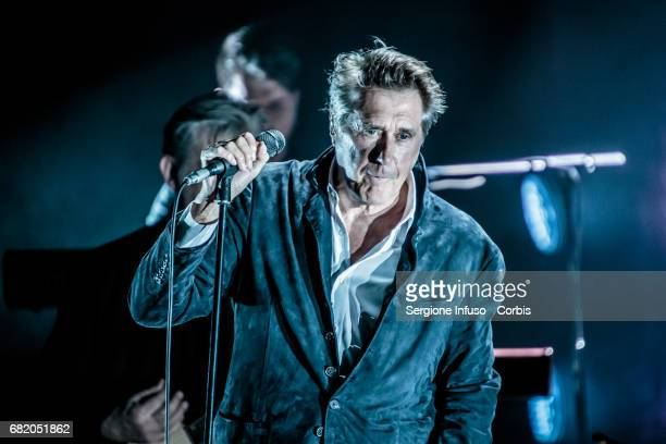 English singer and songwriter Bryan Ferry performs on stage on May 11 2017 in Milan Italy