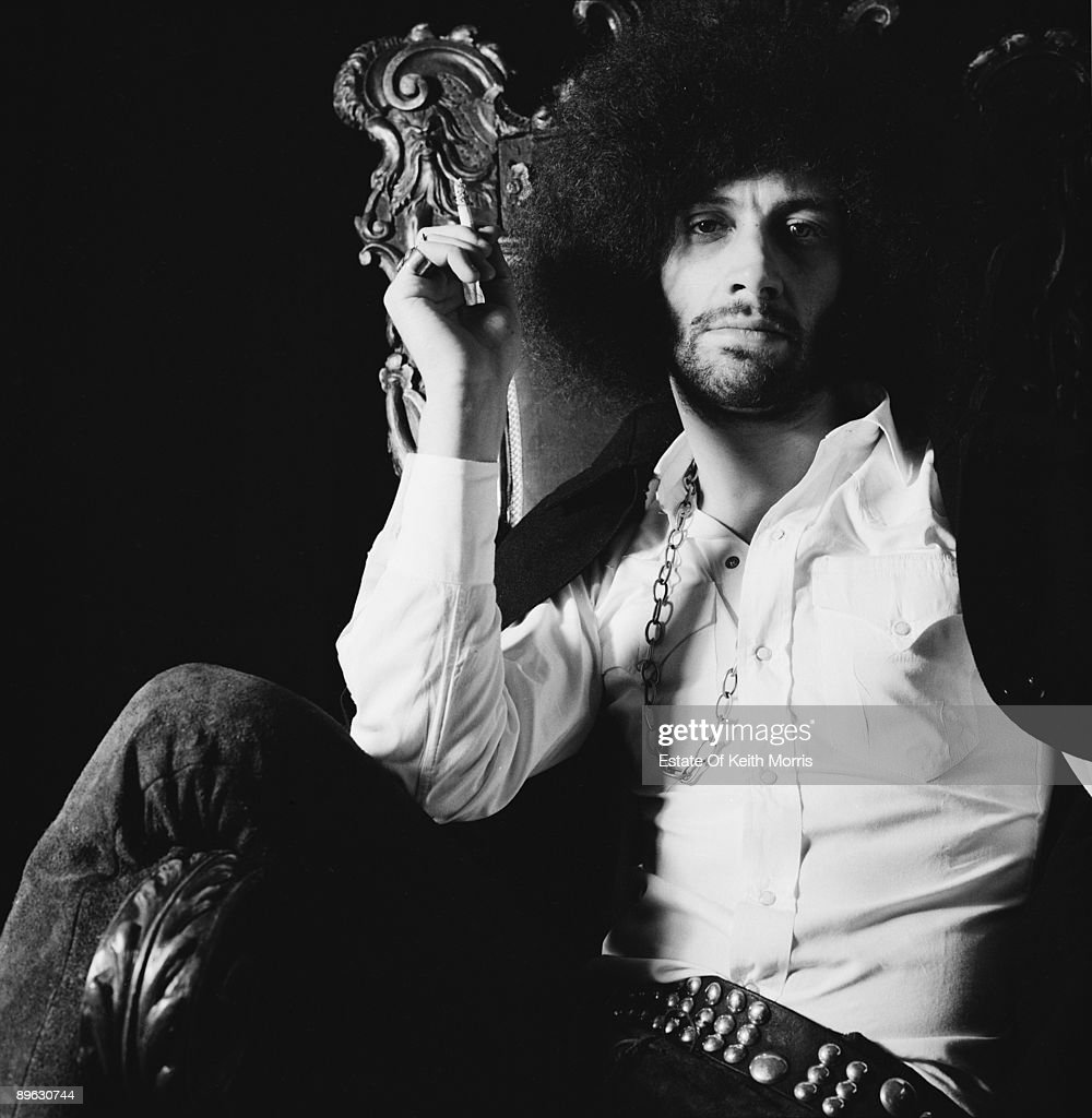 English singer and writer Mick Farren smoking a joint, London, 21st January 1970. Formerly the singer with The Deviants, Farren released a solo album in 1970, before turning to journalism with various underground press publications.