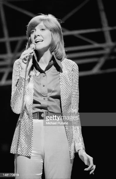 English singer Cilla Black performing on the BBC TV music programme 'Top Of The Pops' London 10th November 1971