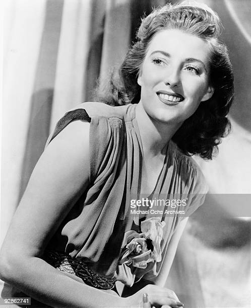 English singer Dame Vera Lynn poses for a portrait circa 1950 in New York city New York