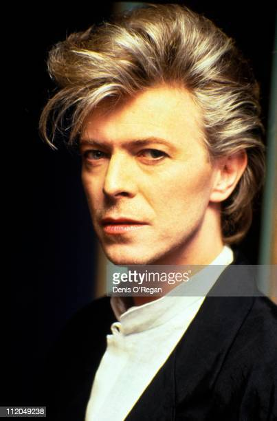 English singer David Bowie in Amsterdam 1987