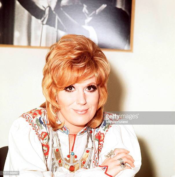 English singer Dusty Springfield in London September 1970