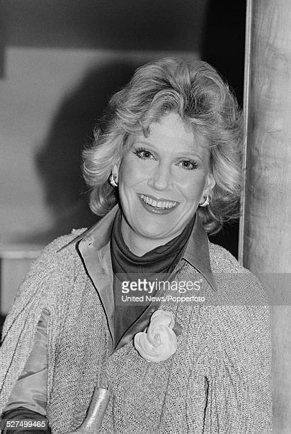 English singer Dusty Springfield pictured in London on 2nd February 1978
