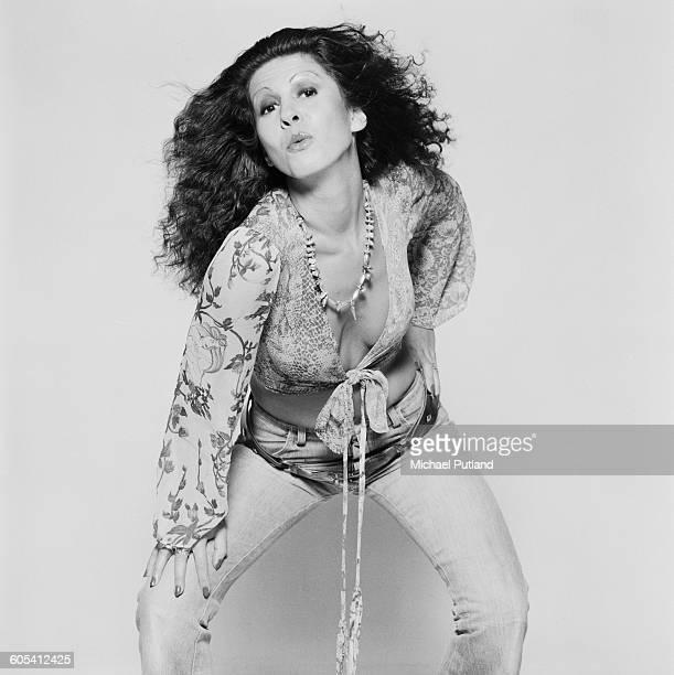 English singer Elkie Brooks 14th November 1975