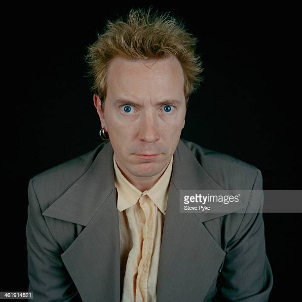English singer John Lydon formerly of the Sex Pistols and Public Image Ltd circa 1990