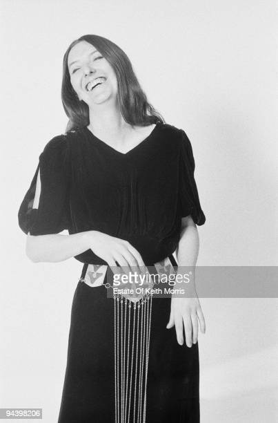 English singer Maddy Prior of electric folk band Steeleye Span 1977
