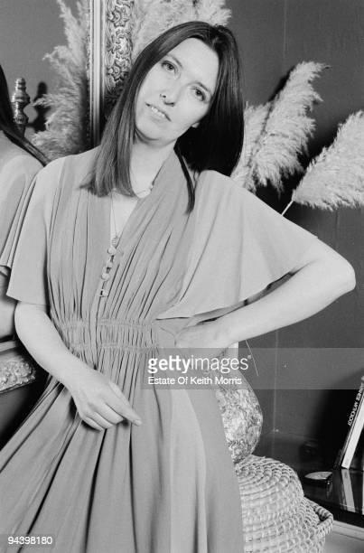 English singer Maddy Prior of electric folk band Steeleye Span April 1977