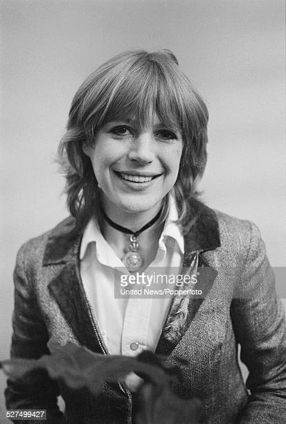 English singer Marianne Faithfull pictured in London on 2nd February 1978