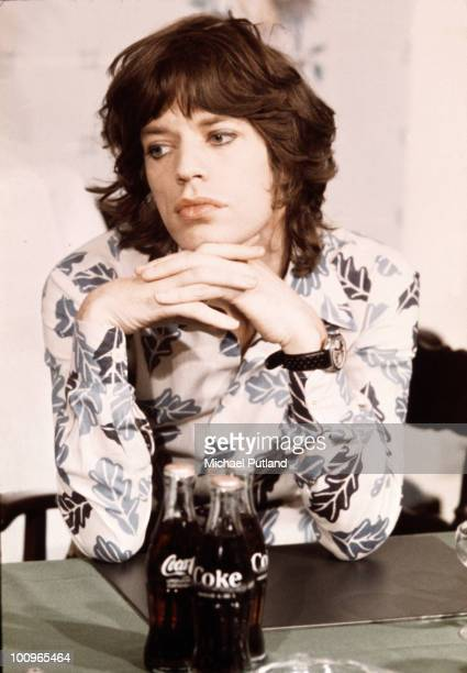 English singer Mick Jagger of the Rolling Stones Amsterdam 1973