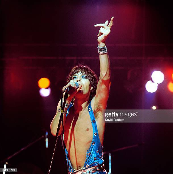 POOL Photo of Mick JAGGER and ROLLING STONES Mick Jagger performing live onstage