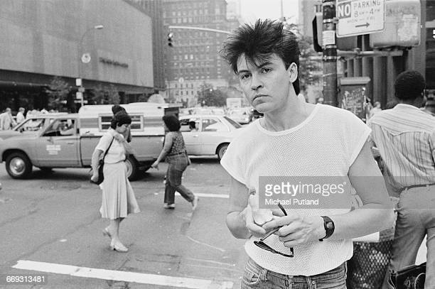 English singer Paul Young in New York City August 1983
