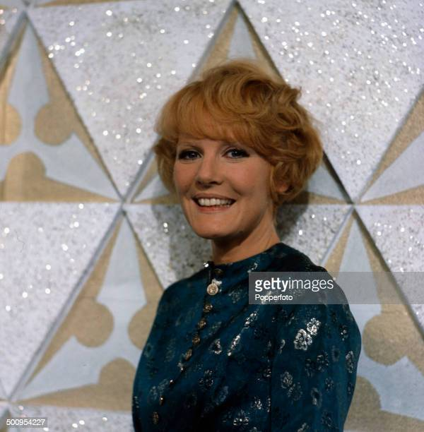 English singer Petula Clark pictured on the set of the television series 'Cooperama' in 1966