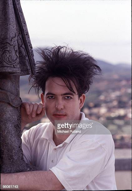 English singer Robert Smith of The Cure Brazil 1987