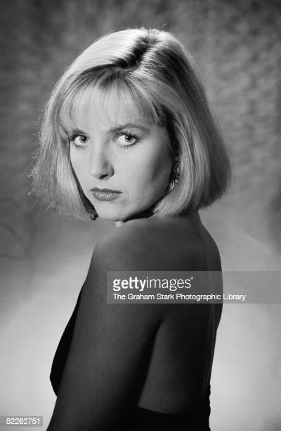 English singer Sarah Cracknell of pop group Saint Etienne circa 1990