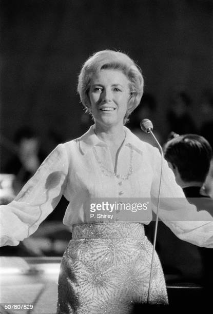 English singer songwriter and actress Vera Lynn on the 'Vera Lynn' BBC television show 12th October 1969