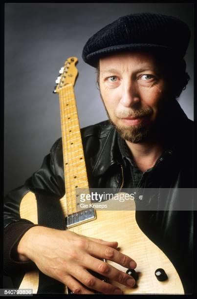 English singer songwriter and guitarist Richard Thompson Vooruit Gent Belgium 7th June 1994