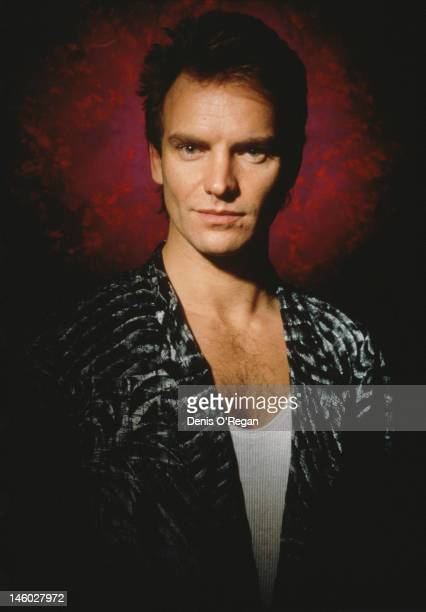 English singer songwriter and musician Sting 1986